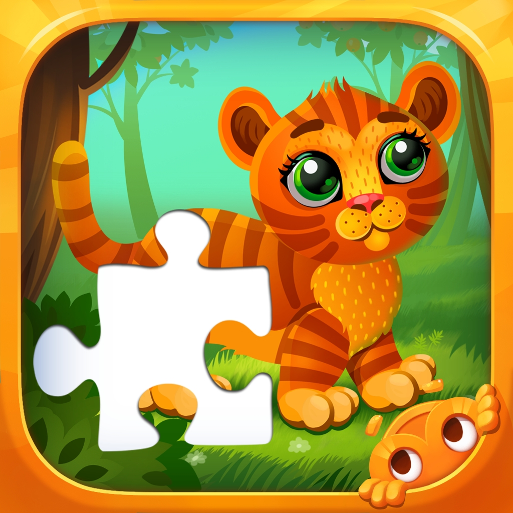 Learning Colors - Cute Puzzles